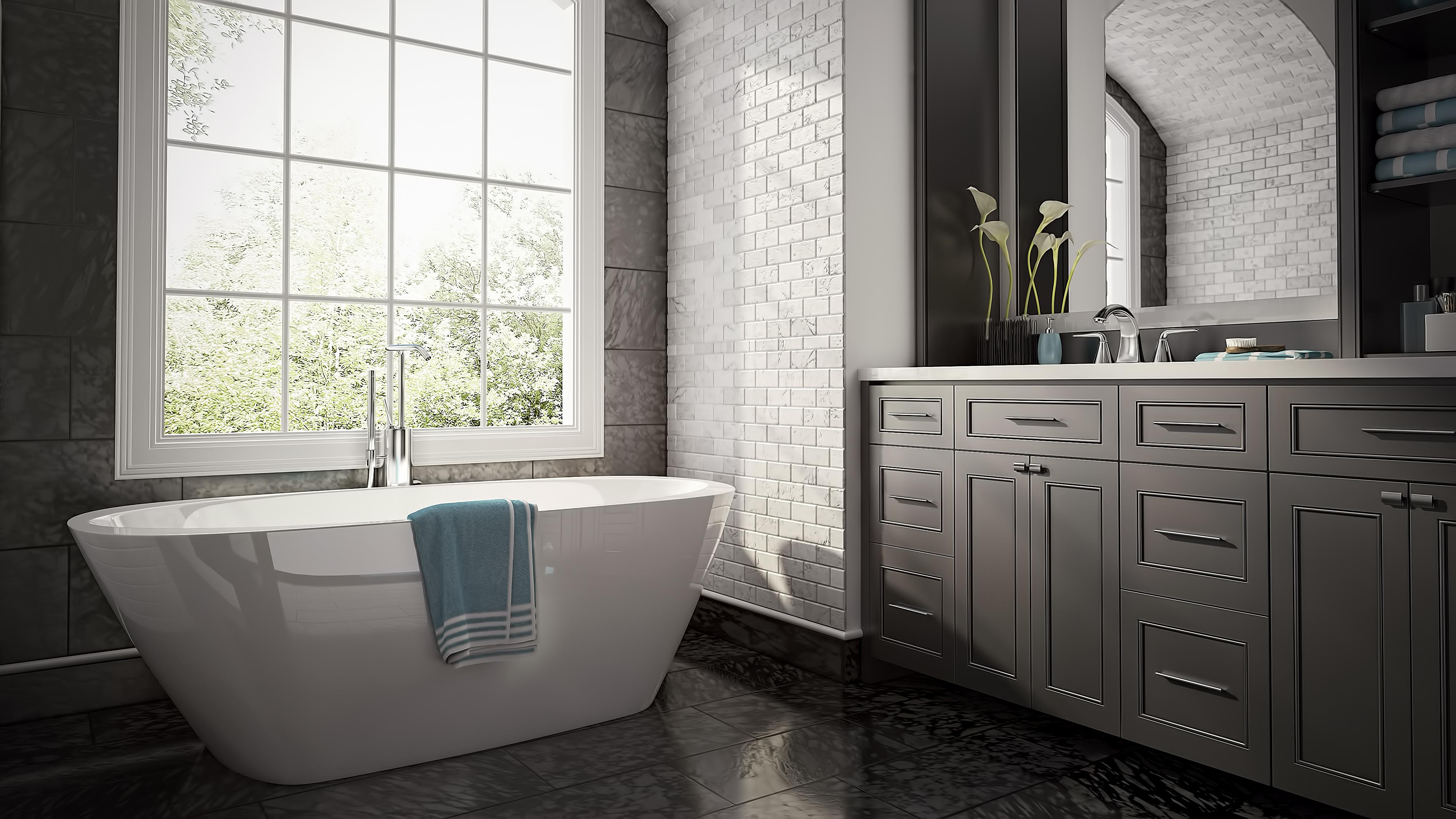 projet salle de bain 3d simulations 3d pour les projets de r novation et projet salle de bain. Black Bedroom Furniture Sets. Home Design Ideas