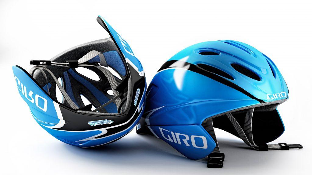 Casque Vélo / Imagerie 3D
